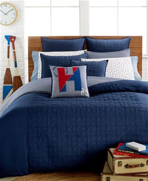 hilfiger bed linen hilfiger academy navy duvet cover