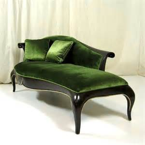 green chaise going green