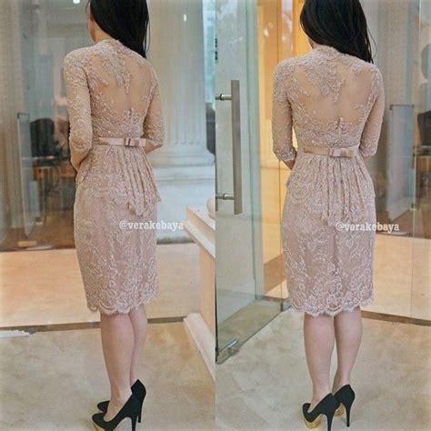 Casual Dress Brukat Putih 80 best casual informal kebaya images on