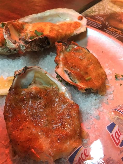 Pappadeaux Seafood Kitchen San Antonio Tx by Oysters On The Half Shell Grilled With Parmesan Cheese