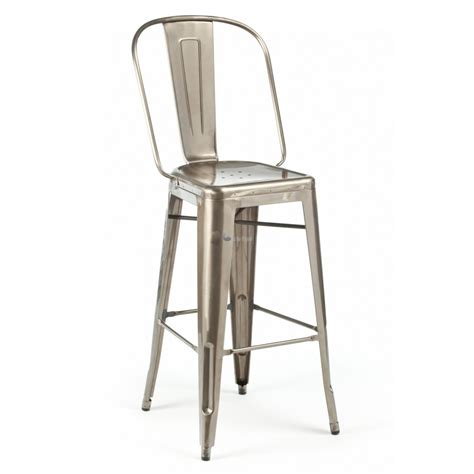 Metal Bar Stool With Back Furniture Metal Bar Stool With Back And Cushioned Seat Terrific Metal Bar Stools With Back