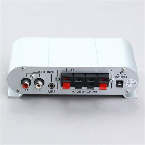 Small Home Stereo Lifier Mini Hifi Audio Lifier For Car Home Theater Stereo