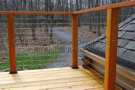A Frame Homes by Cable Railings Build Deck Railings With Stainless Steel