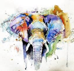 best 25 elephant watercolor ideas on pinterest