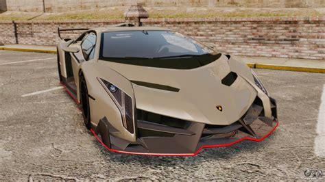 Gta Lamborghini Lamborghini Veneno For Gta 4