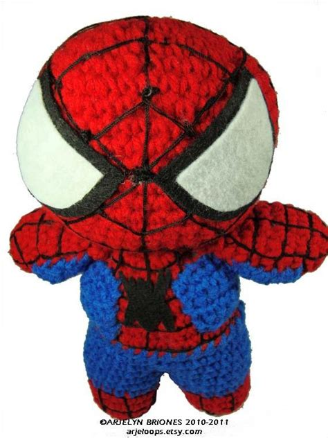 spiderman amigurumi pattern free spiderman crochet doll no pattern haken amigurumi