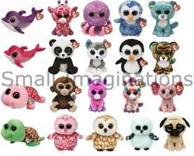 ty 6 beanie boos boo plush teddy soft toy choose designs ebay
