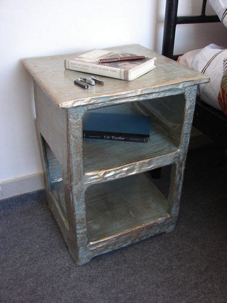 How To Make Paper Mache Furniture - how to make a papier mache side table style