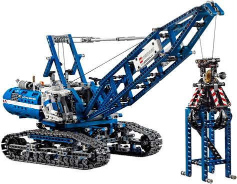 Lego Crawler Crane 42042 review lego technic crawler crane 42042 the test pit