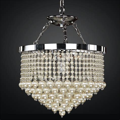 Pearl Chandelier Light Vintages 641 Glow 174 Lighting Pearl Chandelier