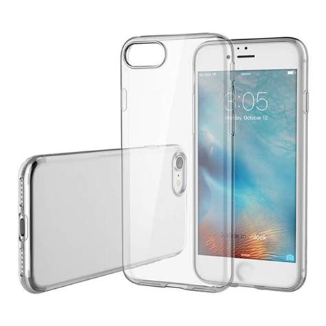 rock ultra thin tpu soft for iphone 7 transparent