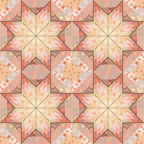 quilt pattern vector quilt seamless pattern background star design stock vector