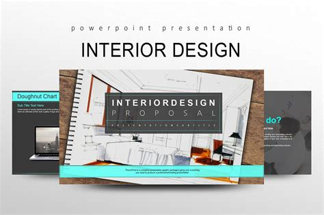 interior design powerpoint presentation exle interior design presentation templates creative market