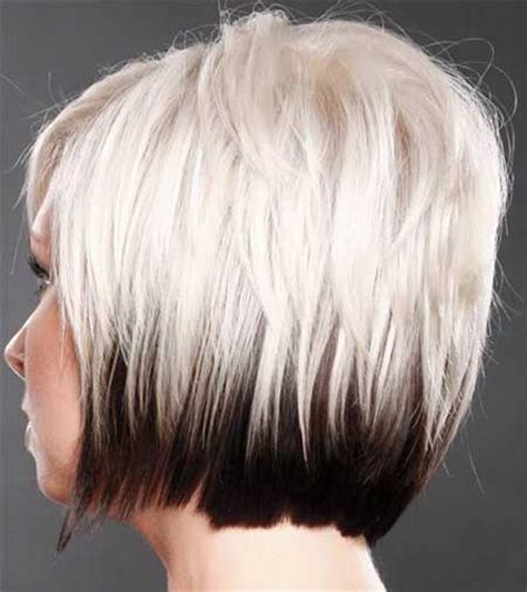 hairstyles blonde dark underneathe good hair colors for short hair short hairstyles 2017