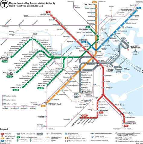 green line map green line mbta map green line map boston united states of america