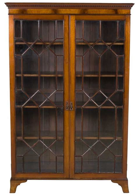 antique bookcase with doors awesome antiques