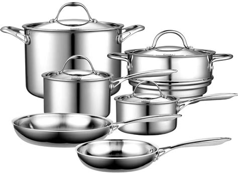 Best Kitchen Pots And Pans by Cooks Standard Multi Ply Clad Review Stainless Steel