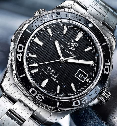 Hands on Review: Aquaracer 500m Ceramic bezel   The Home of TAG Heuer Collectors