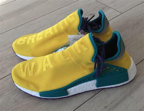 Adidas Nmd Hu X Pharrell William Breathe Walk Sneakers Mirror pharrell x adidas nmd hu breathe walk sneaker bar detroit