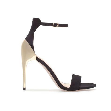 zara heeled sandals zara delicate strappy sandals