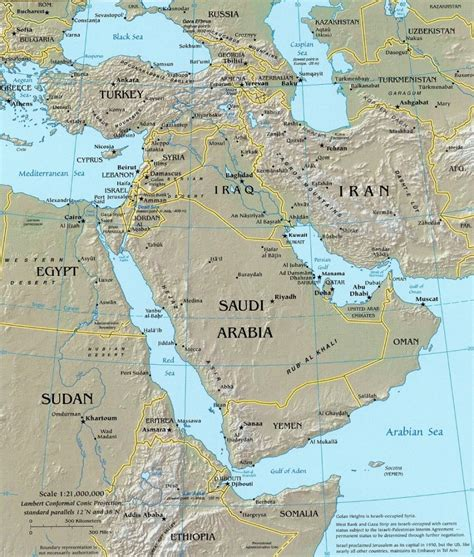 middle east map topographical middle east topographic map middle east map