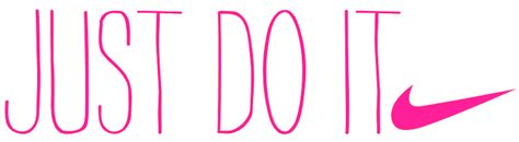 Just Do It Pink just do it