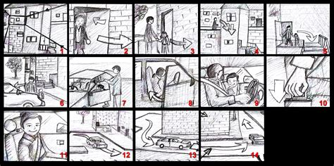 sle script storyboard daniel digital media