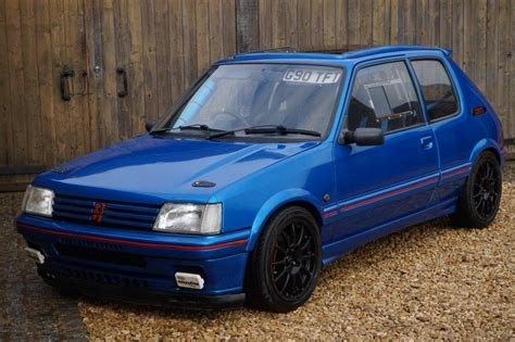 peugeot 205 weight used 1990 peugeot 205 gti for sale in oxfordshire