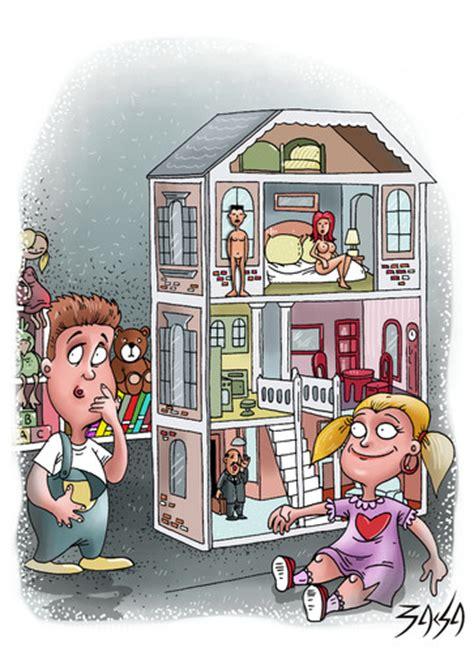 doll house cartoon dollhouse by bacsa philosophy cartoon toonpool