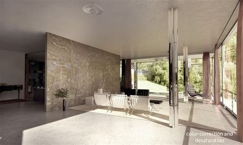 tugendhat house tugendhat house interior by lasse rode xoio 3d architectural visualization