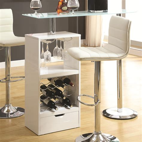 Home Bar Table Coaster Bar Units And Bar Tables White Bar Table Sol