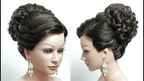 beautiful hairstyles most beautiful hairstyles for wedding or function makeup