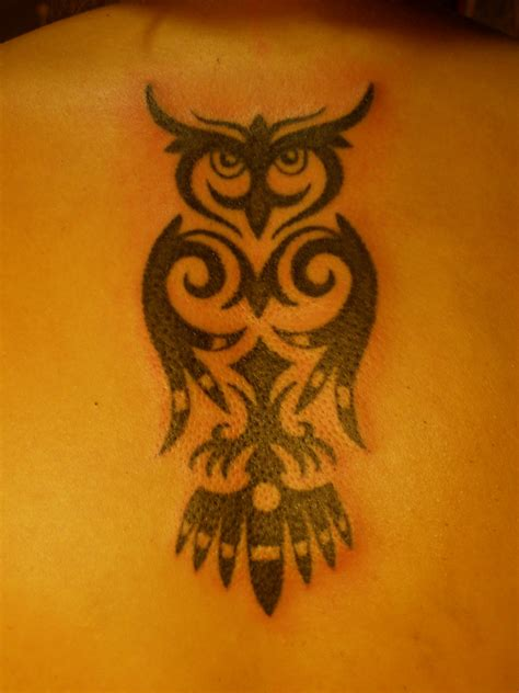 tribal owls tattoos best owl designs gallery