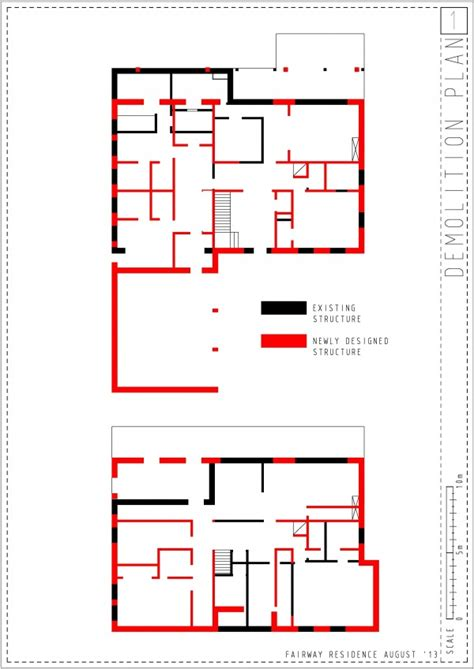 demolition plan template entire home designed by lot13 fairway 3 lima us