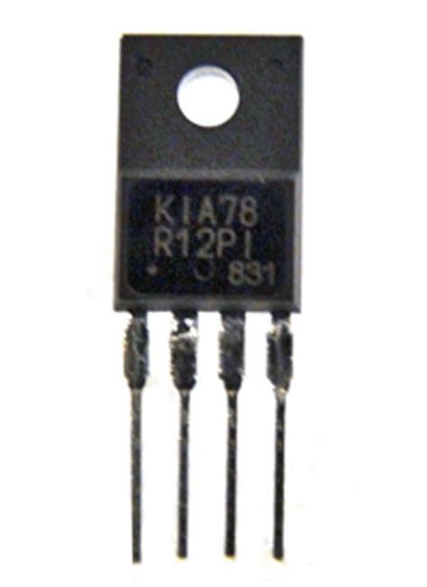 integrated circuit kia78r kia78r12pi datasheet kia78r12pi pdf pinouts circuit kec