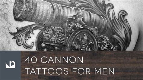 cannon tattoo 40 cannon tattoos tattoos for