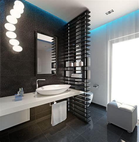 modern guest bathroom chick guest toilet modern powder room other metro