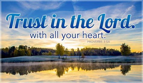 trust in the god of all comfort free trust in the lord with all your heart ecard email