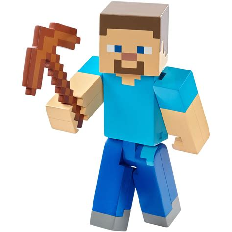 minecraft figures minecraft mining steve 5 quot figure at hobby warehouse