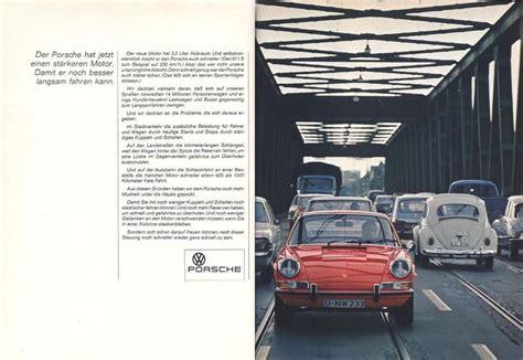 Porsche Anzeige by Anzeige 1969 Porsche St 228 Rkerer Motor F 252 R Langsames