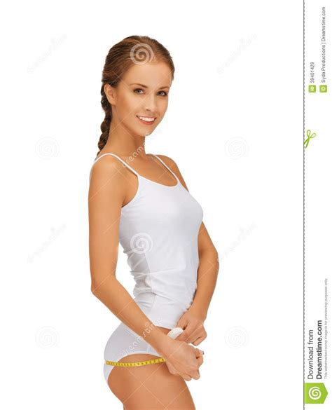 women with lovely hips woman measuring her hips stock photo image 39401429