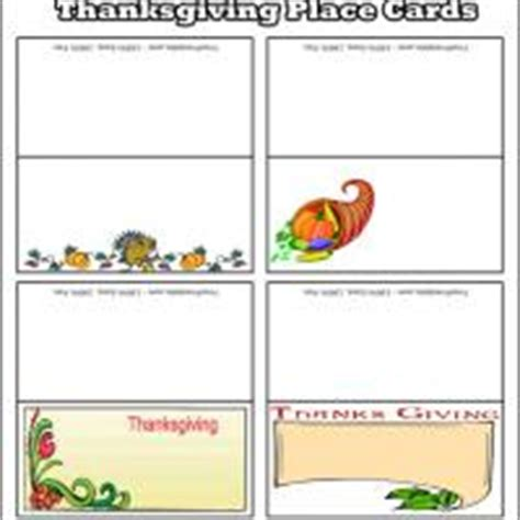 free thanksgiving templates for place cards free template thanksgiving place cards ggettal