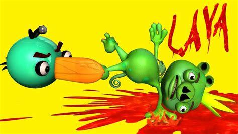 Kaos 3d Umakuka Angry Bird floor is lava w angry birds 3d animated challenge mashup funvideotv style