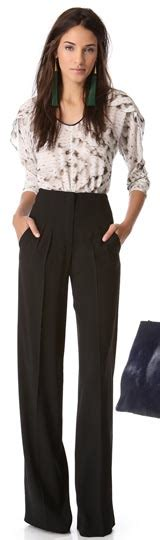 Yay Or Nay High Waist Wide Leg by Floor Sweeping Trousers Yay Or Nay Ylf