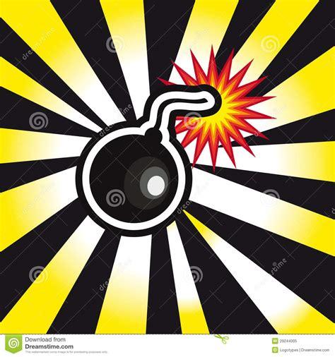 het gevaar van zwarte henna de explosie de bom het gevaar op gele en zwarte