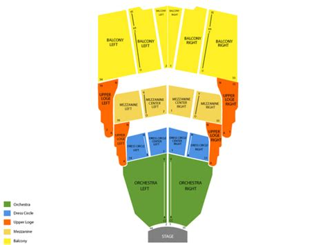 san diego civic theater seating chart san diego civic theatre seating chart and tickets
