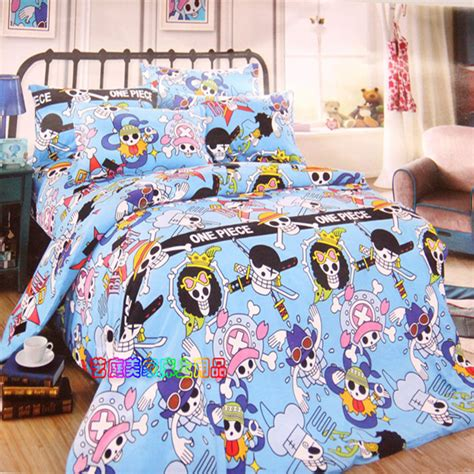 anime comforter sets new 100 cotton twin full queen size anime one piece