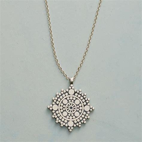 Sundance Gift Card Balance - balance mandala necklace robert redford s sundance catalog