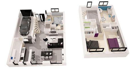 home design 3d 2 etage c 233 l 232 s 126 m 178 4 chambres maisons d en france