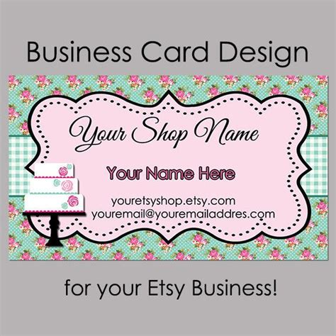 cookie rally card templates 1000 ideas about bakery business cards on